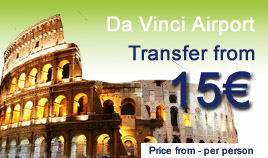 Da Vinci airport transfer